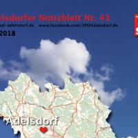 Adelsdorfer Notizblatt Nr. 43