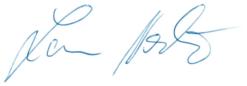 Unterschrift Norbert Lamm