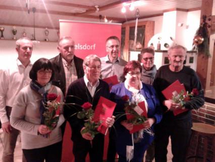 SPD Ehrungen 2014
